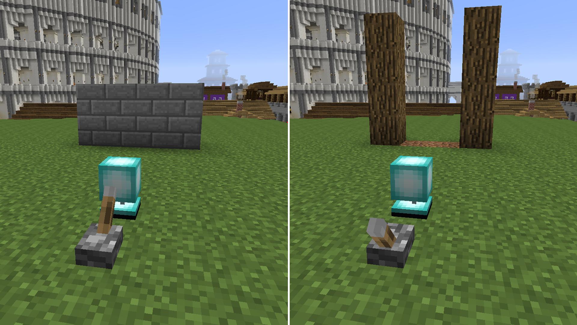 моды на майнкрафт 1.7.10 невидимий блоки