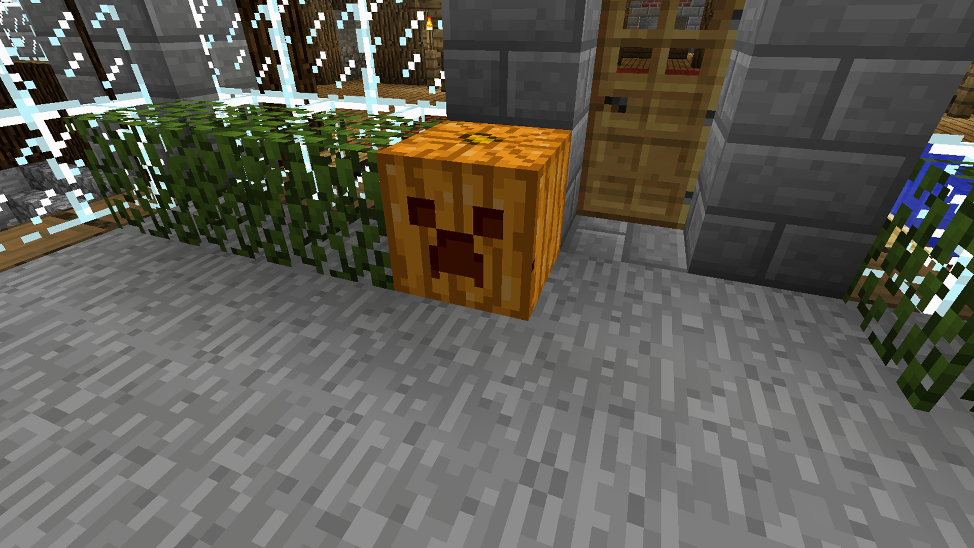 carvable pumpkins minecraft mods
