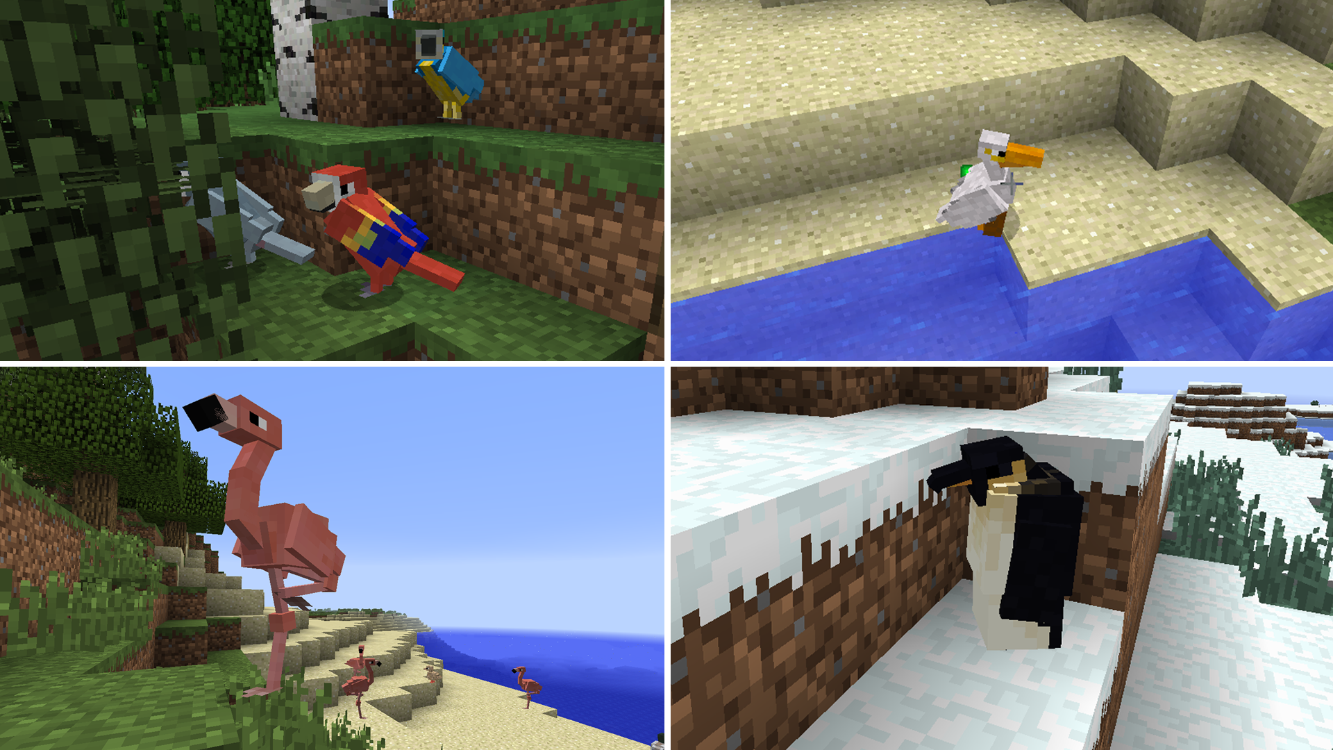 Exotic Birds | Minecraft Mods