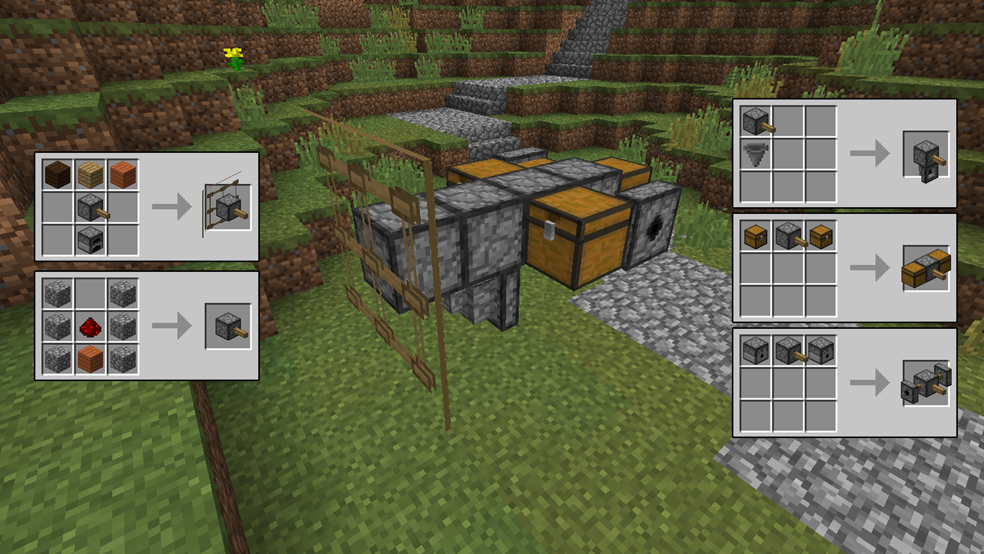 Minecraft    Mods Crafting