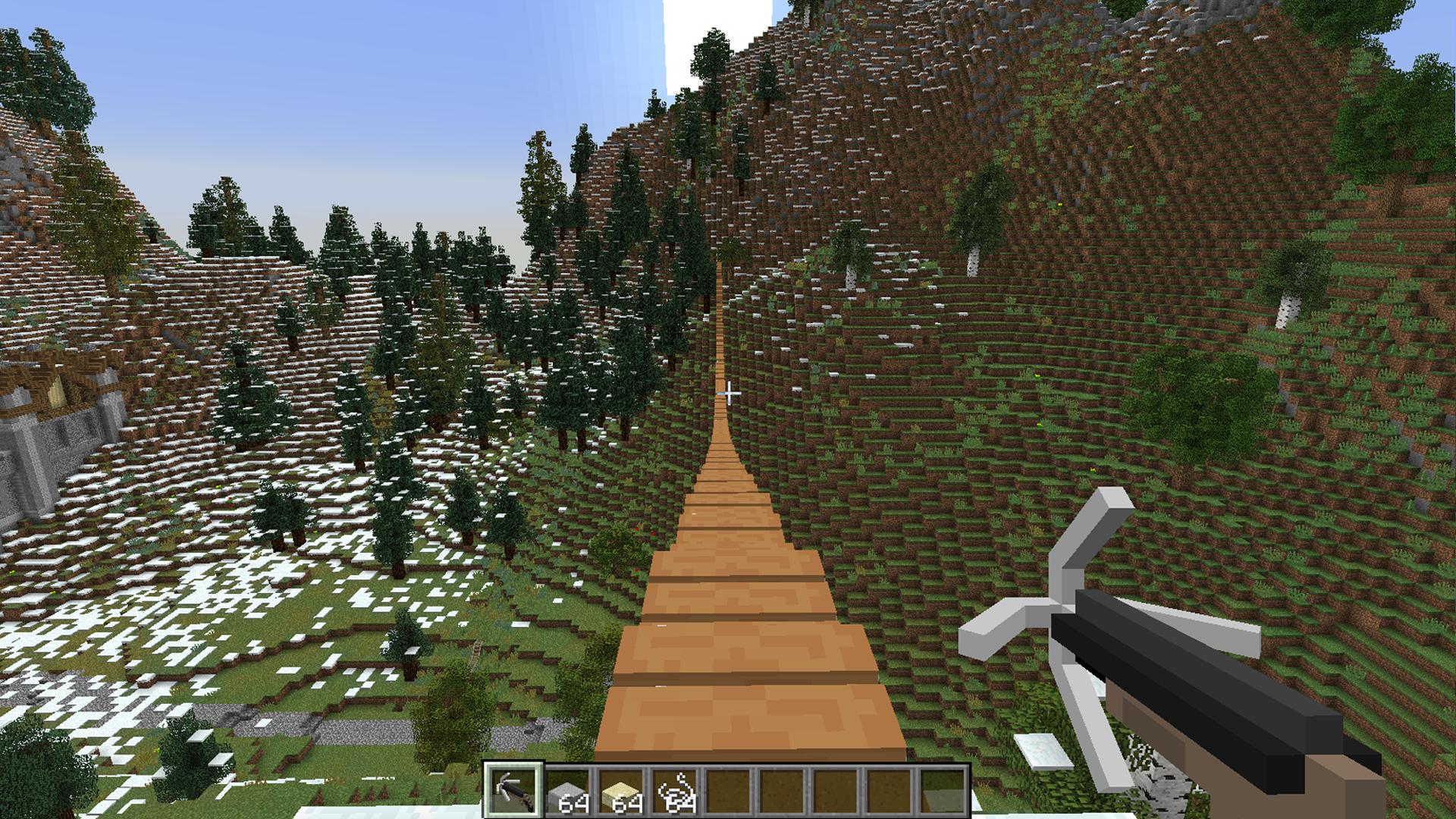 Rope Bridge Mod (1.11.2)   Minecraft Mods