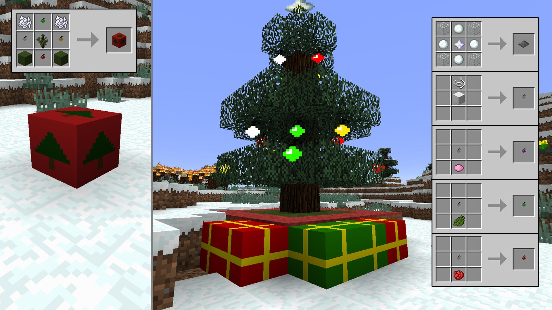 Minecraft Christmas.The Spirit Of Christmas 1 8 Minecraft Mods