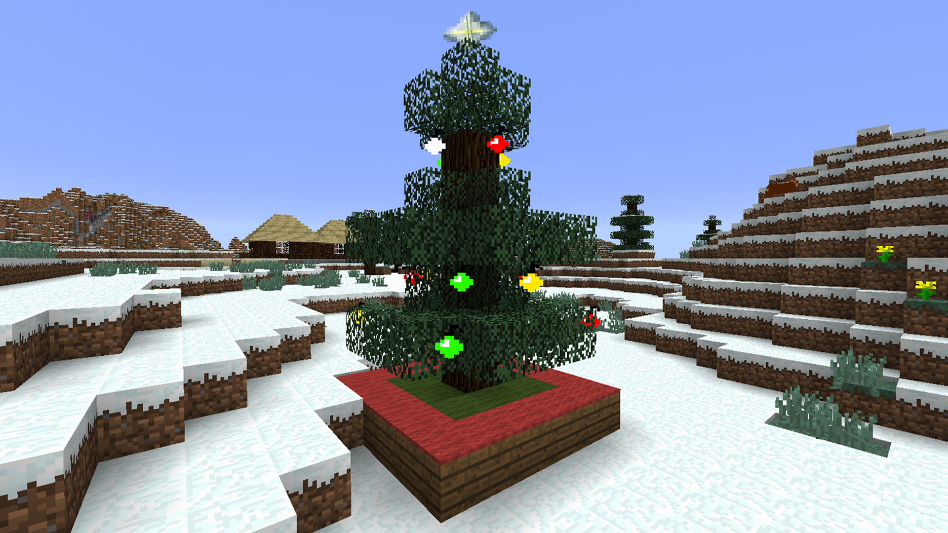 Christmas Minecraft Decorations.The Spirit Of Christmas 1 8 Minecraft Mods