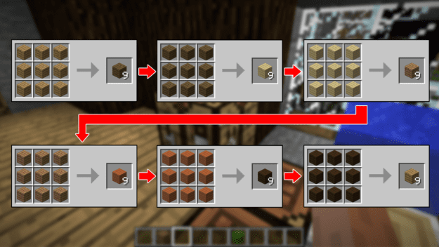 So Essentially This Mod Allows You To Get Any Sort Of Wood Type Could Be Looking For Simply By Crafting It And Works The Same Block