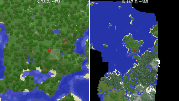 Xaeros world map minecraft mods and one of the most interesting improvements with this map is the addition of showing your footsteps to be able to accurately map the trail youve taken gumiabroncs Choice Image