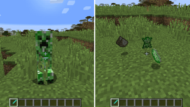 Creeper drops minecraft mods this is especially helpful early on when food may be scarce but creepers plentiful voltagebd Image collections